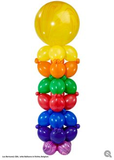Balloon party decor ideas, images and instructions for balloon arches & columns, organic balloon decor and balloon delivery. Balloons Galore, Big Balloons, Baby Shower Balloons, Ballon Decorations, Balloon Centerpieces, Wedding Centerpieces, Balloon Shop, Balloon Wall, Balloon Columns