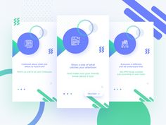 Mobile App Onboarding - Snipread designed by Rohit Mondal. Mobile Web Design, App Design, Mobile App, Ios Ui, Ui Kit, Material Design, Design Development, Product Launch, Templates