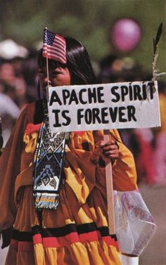 Apache spirit.  In honor of the indigenous people of North America who have…