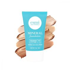 Shop Vegan Skincare & Treatment Foundation products today at esmi. esmi products are cruelty free and vegan and here to help improve your day to day skincare. Liquid Mineral Foundation, How To Apply Foundation, Probiotic Skin Care, Liquid Minerals, Natural Sunscreen, Hydrating Serum, Skin Care Treatments, Skin Elasticity, Natural Oils