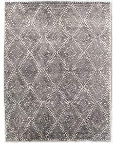 RH Mohair Antico Rug - Charcoal/Grey. 5' x 7'$2954 retail.