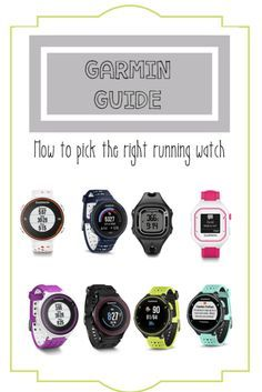 How to Pick your Garmin Running Watch wether you are a fitness expert, marathoner, new runner, triathlete, or someone looking to enhance their fitness there is a Garmin for you