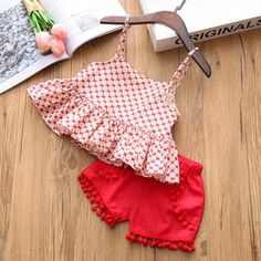 Toddler Kids Baby Girl Outfits Clothes Floral Sleeveless Vest T-Shirt Shorts Set Summer Princess Kids, Baby Outfits, Girls Summer Outfits, Dresses Kids Girl, Little Girl Outfits, Toddler Girl Outfits, Little Girl Fashion, Fashion Kids, Girl Toddler, Toddler Fashion
