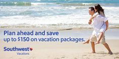 Book #Southwest #Airlines #Vacations with #CruisePlanners at http://www.gobooktrips.com Book a flight + hotel #vacation package any destination we offer, and save up to $150.• Save $50 on packages totaling $500 – $1,499. • Save $100 on packages totaling $1,500 – $1,999. • Save $150 on packages totaling $2,000 or more.