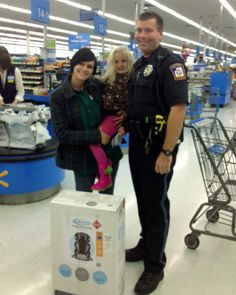 Instead of issuing a ticket, one Michigan officer paid it forward by helping out a mother in need.