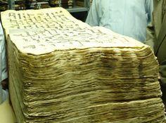 Mushaf of Uthman ibn Affan (Earliest Book of Quran) Originally found on: greenstar16
