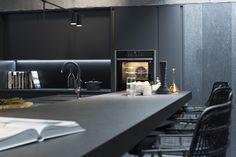 "The ""AllBlack"" kitchen CGI on Behance"