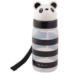 Panda school supplies: Adorable reusable water bottle