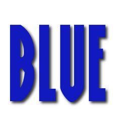 dark blue word