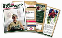 Rob Kaminsky Left Handed Pitcher And Potential 1st Round Draft Pick Brochure