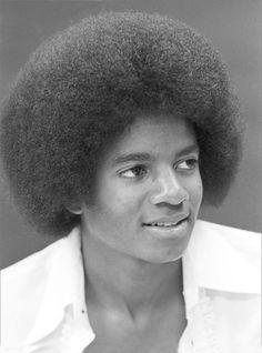 Michael Jackson as a young man