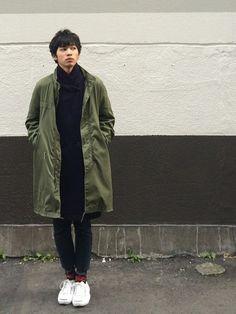 Kotaro Hatanoさんのモッズコート「VINTAGE 」を使ったコーディネート