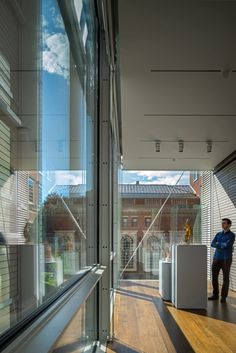 Renzo Piano reorganises Harvard Art Museums around a courtyard atrium