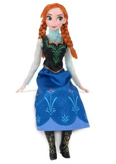 "Join Anna in singing ""For the First Time In Forever"" with this beautiful collectible doll: http://www.disneymovierewards.go.com/rewards/singing-anna-doll-8238?cmp=DMR