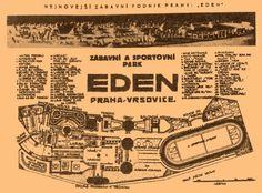 Historical Roller coaster at Eden Lunapark in Prague almost 100 years ago via TresBohemes
