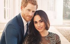 Meghan Markle and Prince Harry are marching to the beat of their own drum! The couple are set to tie the knot on May and even though British royal weddings come with a long list of rules, Meghan and Harry are doing things their way. Prince Harry Et Meghan, Meghan Markle Prince Harry, Princess Meghan, Harry And Meghan, Engagement Photo Dress, Royal Engagement, Engagement Photos, Engagement Rings, Engagement Session