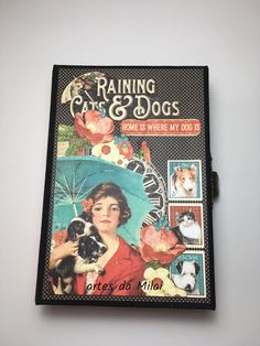 album Raining Cats and Dogs Raining Cats And Dogs, Dog Cat, Scrap, Album, Dog Stuff, Kitty Cats, Pictures, Tat, Card Book