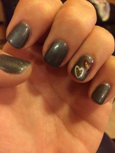 This is what me and my sweet nail lady came up with today #fall #thanksgiving #nails