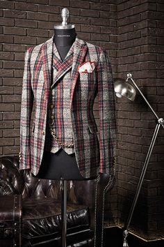 trust yourself — iqfashion: Tagliatore - F/W Source:. Sharp Dressed Man, Well Dressed Men, Men Suit Shoes, Suit Fashion, Mens Fashion, Tartan Men, Elegant Man, African Men Fashion, Kurta Designs