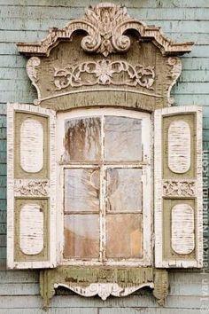 Russian window, nalichnik. by Cosa c'è di nuovo?