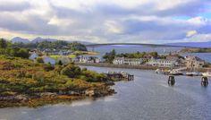 Kyleakin, Isle of Skye, Inner Hebrides, Scotland