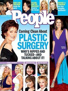 photo | Plastic Surgery, Ben Affleck, Britney Spears, Cameron Diaz, Jennifer Lopez, Melanie Griffith, Pamela Anderson, Patricia Heaton, Ros...