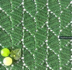 20 FREE Crochet Leaf Patterns for Every Season: Crochet Leaf Stitch Pattern