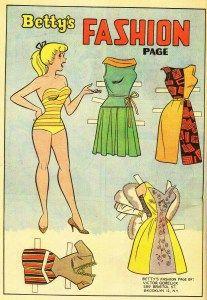 Betty's Fashion Page