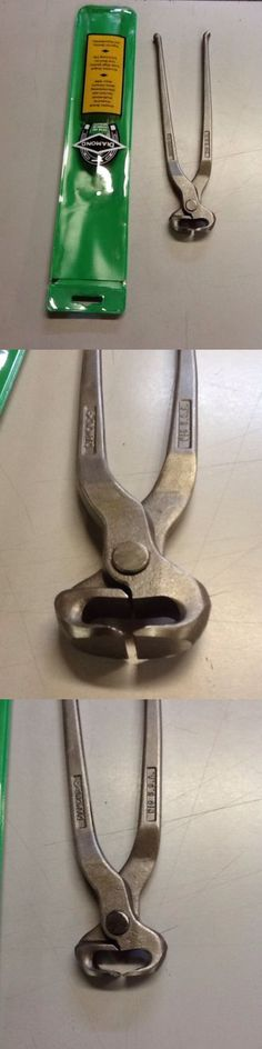 Hoof Rasps and Farrier Tools 183404: Diamond Co. Nail Cutting Nipper 10 N10 Farrier Blacksmith Horseshoe -> BUY IT NOW ONLY: $46.0 on eBay!