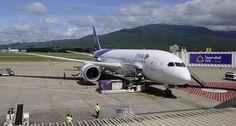 #FlybackFriday: Onboard Thai Airways Inaugural Boeing 787-8 Bangkok – Chiang Mai