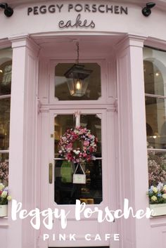 A guide to one of Londons pinkest and prettiest destinations. No visit to London is complete without a trip to Peggy Porschens