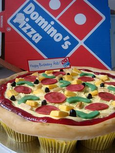 Haha thats great! I need this for donny to take to work pizza cupcakes