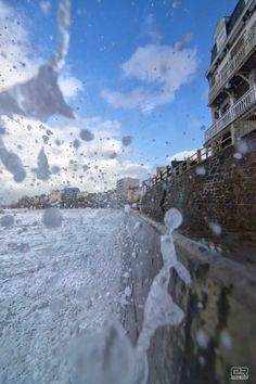Tempête et grande marée du 3 janvier 2014 à Saint-Malo