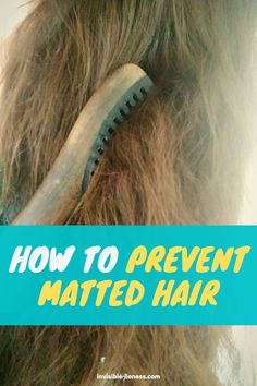 Are you struggling with matted hair? The best way is to prevent your hair from tangling in the first place - this is how! Long Hair Tips, Grow Long Hair, Easy Hairstyles For Long Hair, Grow Hair, Cool Hairstyles, Growing Out Short Hair Styles, Hair Growing, Long Hair Styles, Vitamins For Hair Growth