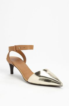 See by Chloé 'Hera' Pump available at #Nordstrom I might actually be able to wear these