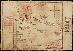 Amazon.com - The Hobbit Poster: Lonely Mountain Map (39x27)