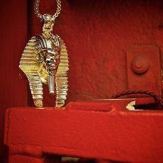 Gold Snoop Pharaoh Necklace #SnoopDogg #Collab #JunglJulz