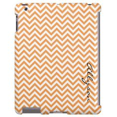 Citrus Chevron iPad case- I would never pay $78 for this but it sure is cool!