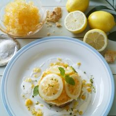 アフタヌーンティーに夏にぴったりな塩スイーツ「フローズンレモンタルト」が登場 - macaroni