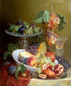 Still life of Grapes Square Diamond Painting,Still life of Grapes Square Diamond Painting Kitchen gadgets & home components make everyday activity simpler There isn't to be always a star chef to . Fruit Photography, Still Life Photography, Beauty Photography, Still Life Images, Still Life Fruit, Fruit Painting, Painting Still Life, Caravaggio, Art Moderne