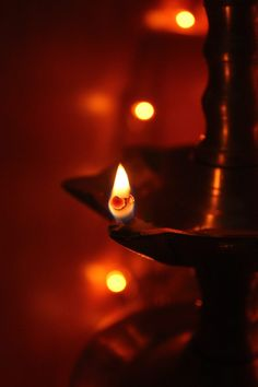 Taken during the diwali festival of 2013. This is a hanging light hung in prayer room usually in the homes of Kerala.