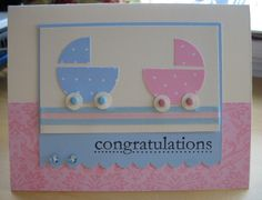 Punch Baby Card by rss - Cards and Paper Crafts at Splitcoaststampers