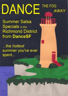 DANCE! the freezing cold summer away with DanceSF's salsa classes at the hottest San Francisco dance clubs    www.dancesf.com