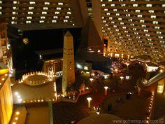 inside the Luxor, Las Vegas