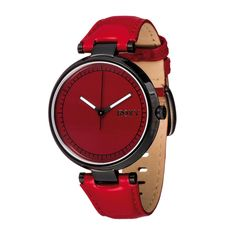 Roxy Living La Watch - Red | Free UK Delivery on All Orders
