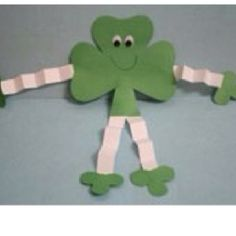 Patrick's Day man craft with shamrock templates is a great way to turn simple shamrocks into something unique and fun. This happy guy makes a st patricks day images Shamrock Man March Crafts, St Patrick's Day Crafts, Daycare Crafts, Classroom Crafts, Spring Crafts, Toddler Crafts, Preschool Crafts, Holiday Crafts, Kids Crafts