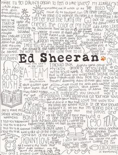 ed sheeran song quotes, love him Song Quotes, Music Quotes, Music Lyrics, Lyric Art, 5sos Lyrics, Music Is Life, My Music, Amor Musical, Edward Christopher Sheeran