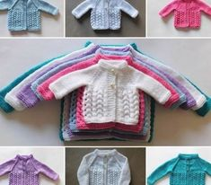 Snowdrop Baby Cardigan Jacket: small preemie, medium / large preemie, newborn, 0 - 3 months Source by ameenaenu Coat Baby Knitting Patterns, Baby Cardigan Knitting Pattern Free, Knitting For Kids, Easy Knitting, Baby Patterns, Crochet Patterns, Knitting Projects, Preemie Clothes, Knitted Baby Clothes