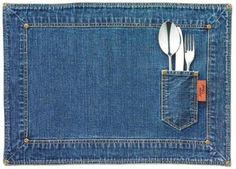 Revista Imóveis» Jeans sai do armário para estampar a decoração da casa