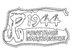 kolorowanka dla dzieci do druku - Powstanie Warszawskie Super Coloring Pages, Vocabulary, Free Printables, Polish, Collection, Historia, Vitreous Enamel, Free Printable, Vocabulary Words
